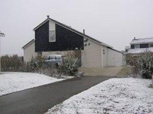 Het huisje in de sneeuw